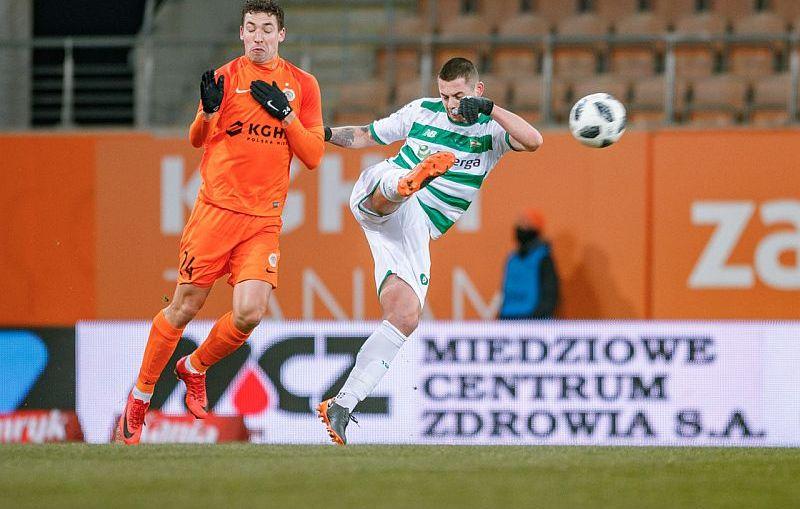 Zagłębie Lubin zremisowało 0-0 z Lechią Gdańsk