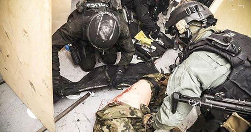 Kurs ratownictwa taktycznego TCCC w Lubinie