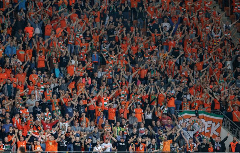 W Lubinie padł rekord frekwencji na stadionie Zagłębia Lubin