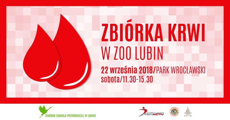 Lubińska zbiórka krwi w ZOO Lubin