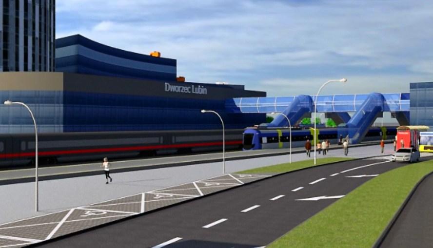 Prezydent ujawnił koncepcję budowy dworca PKP-PKS