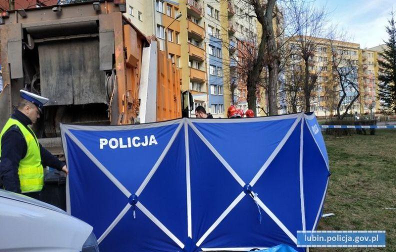Lubińska policja poszukuje świadków wczorajszego śmiertelnego wypadku