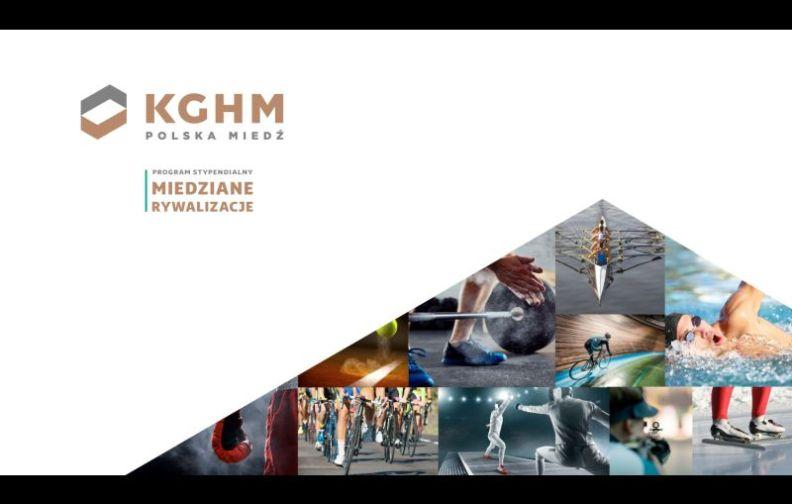 Miedziane Rywalizacje. Program stypendialny KGHM Polska Miedź S.A wspiera zdolnych sportowców.
