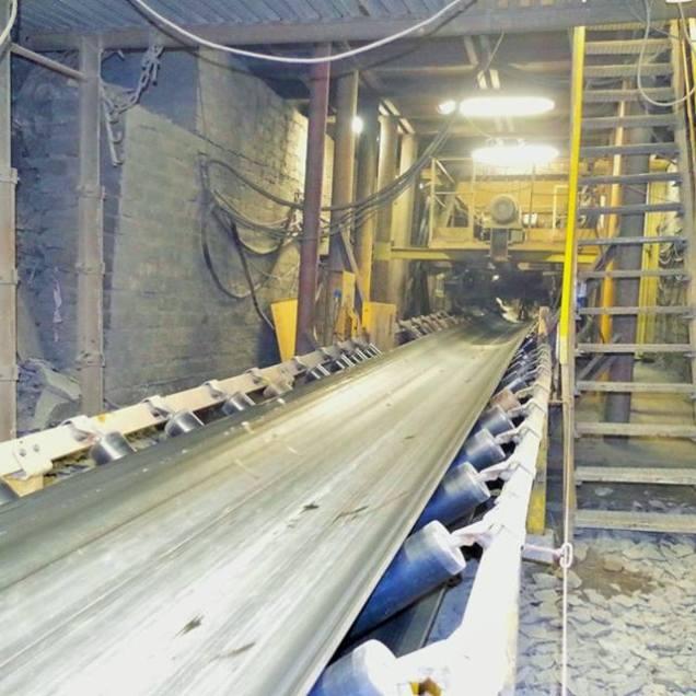 Uruchomiono taśmociąg w ZG Rudna po wstrząsie w kopalni