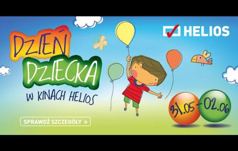 Weekend Dnia Dziecka w kinach Helios