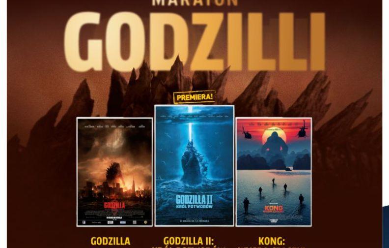 Helios zaprasza na Maraton Godzilli!