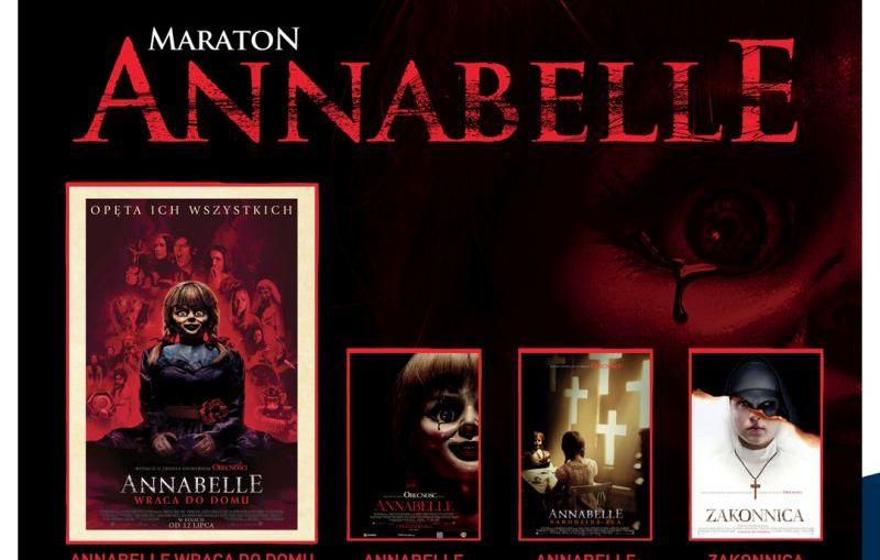 Maraton Annabelle w kinach Helios!