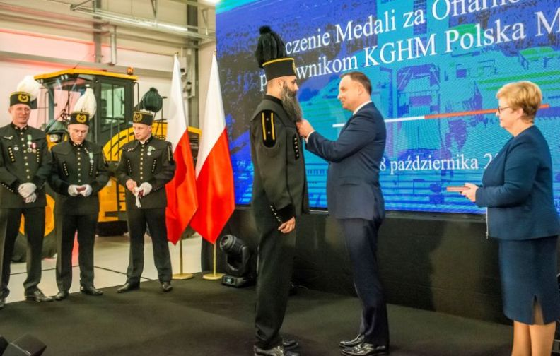 KGHM Polska Miedź uruchamia nowy szyb, będzie bezpieczniej i efektywniej
