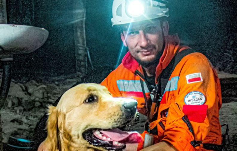 Psy - ratownicy w kopalniach KGHM