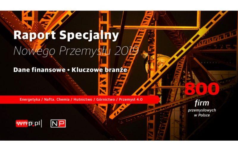 Cztery spółki z Grupy KGHM wśród 800 największych firm przemysłowych w Polsce