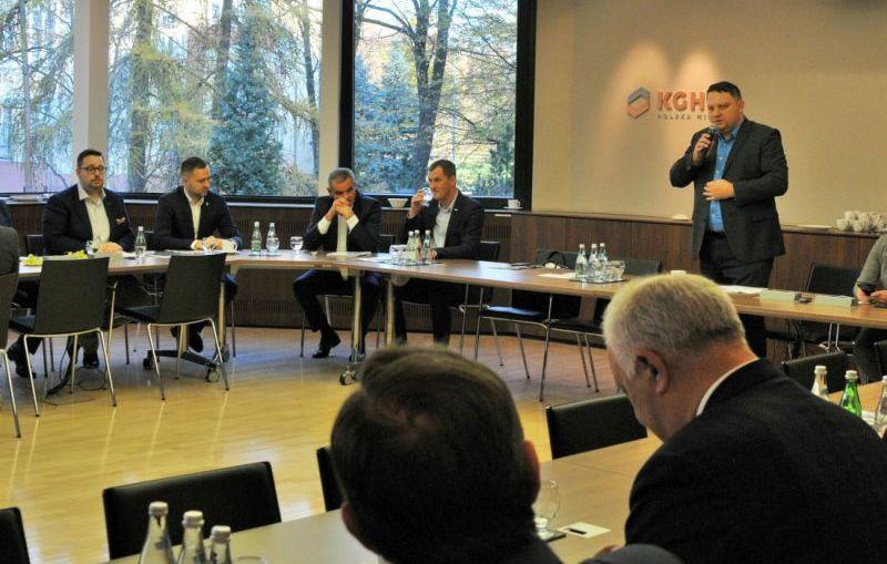 KGHM i samorządowcy wspólnie o projektach na rzecz Zagłębia Miedziowego