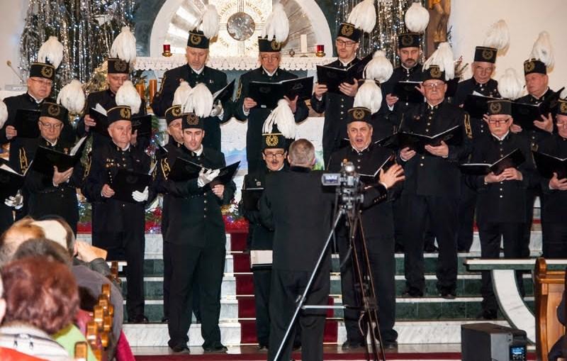 Msza św. i benefis chóru górniczego z okazji jubileuszu 40-lecia działalności