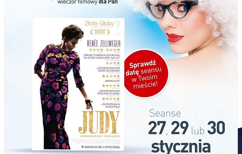 """Styczniowe Kino Kobiet ze znakomitym filmem """"Judy""""!"""