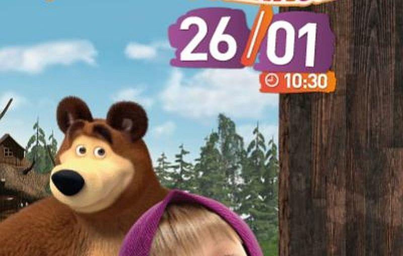 Filmowe Poranki: Masza i Niedźwiedź, cz. 4, 26 styczeń 10:30