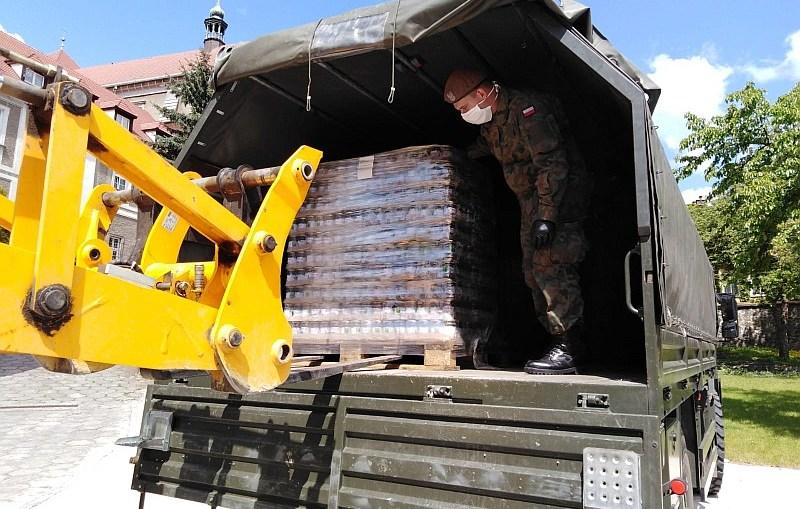 Terytorialsi wspierają dystrybucję żywności