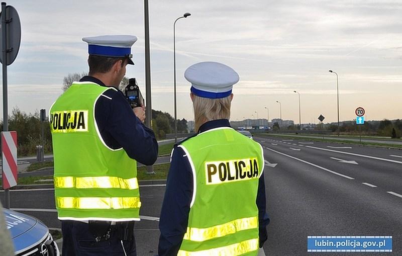 8 zatrzymanych praw jazdy, za przekroczenie prędkości w obszarze zabudowanym