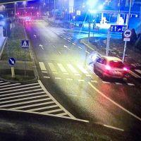 #Lubin. Potrącenie na przejściu dla pieszych.
