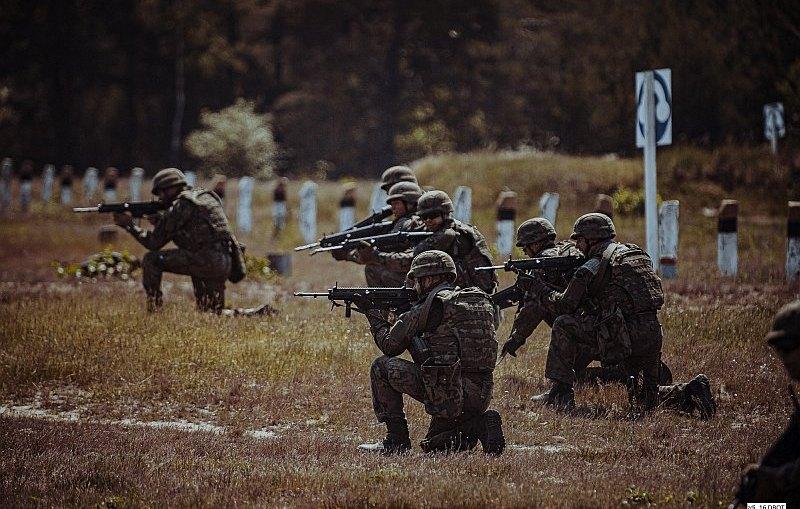 Wspólne ćwiczenia dolnośląskich Terytorialsów z wojskami operacyjnymi