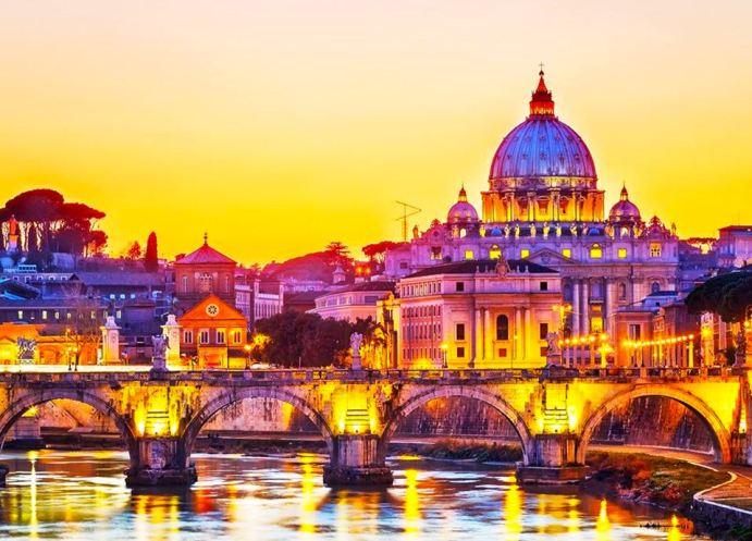 Najpiękniejsze miasta Europy - Rzym