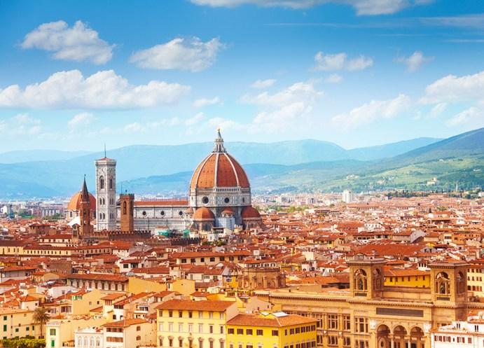 Najpiękniejsze miasta Europy - Florencja