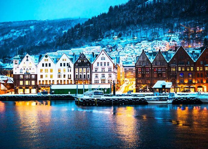 Najpiękniejsze miasta Europy - Bergen