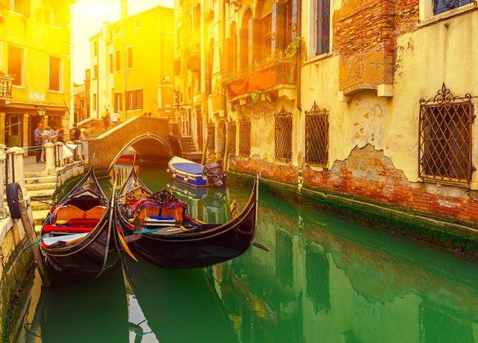 Najpiękniejsze miasta Europy - Wenecja