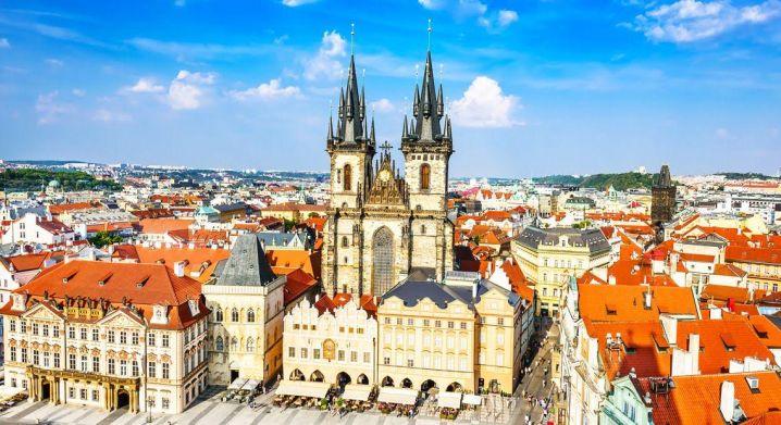 Najpiękniejsze miasta Europy - Praga