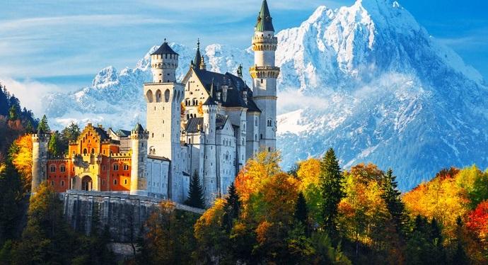 Najwspanialsze zamki Europy - Neuschwanstein, Niemcy