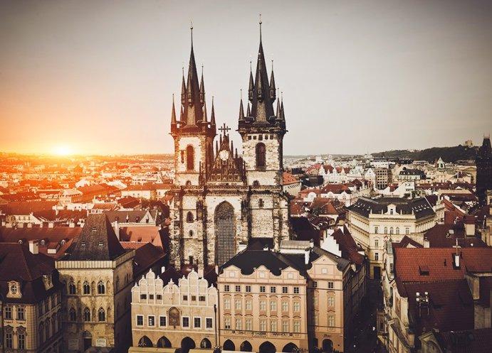 Złota Praga - rynek