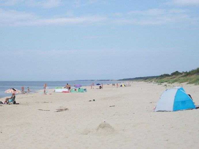 Polskie plaże bez tłoku - Piaski