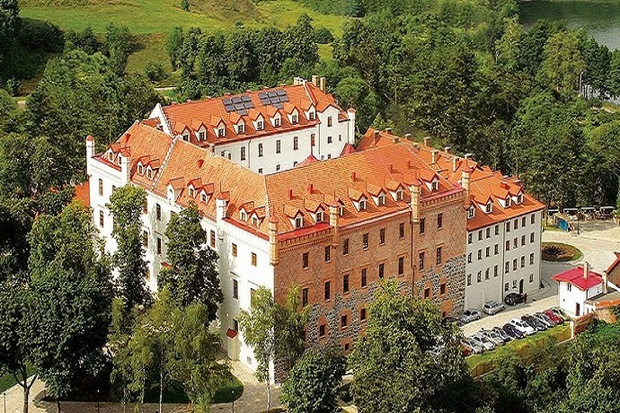 Nawiedzone miejsca w Polsce - Zamek Ryn