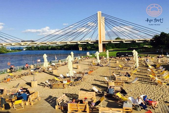Plaża Wrocław - Hot Spot