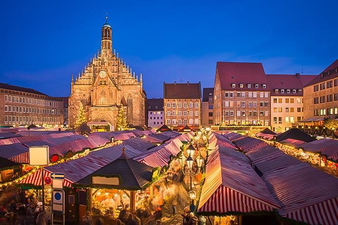 Najpiękniejsze jarmarki świąteczne - Norymberga
