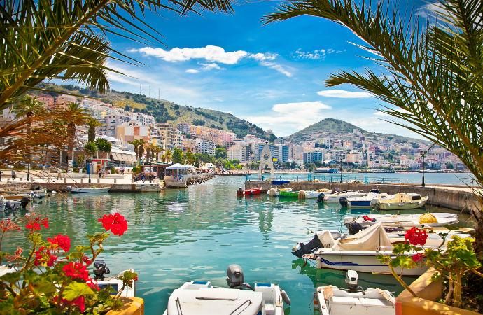 Najpiękniejsze zakątki Albanii - Saranda