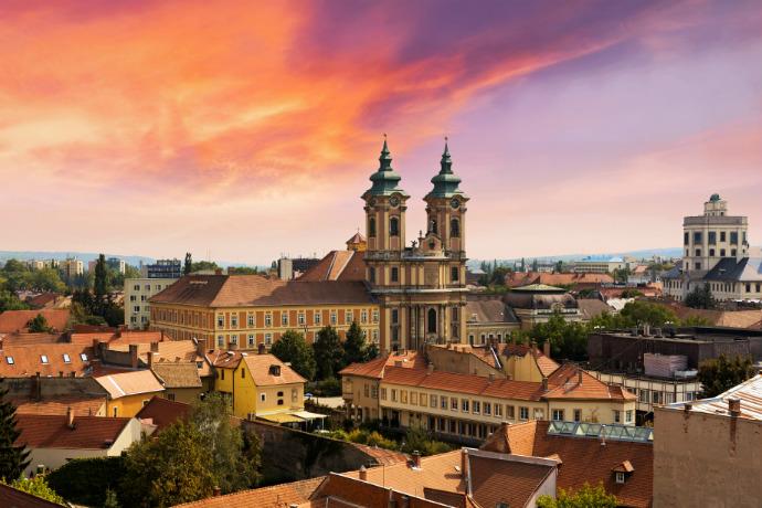 Największe atrakcje Węgier - Eger