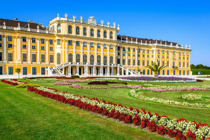 Najpiękniejsze pałace w Europie - pałac Schonbrunn