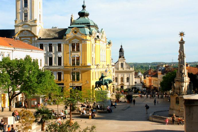 Największe atrakcje Węgier - Pecz