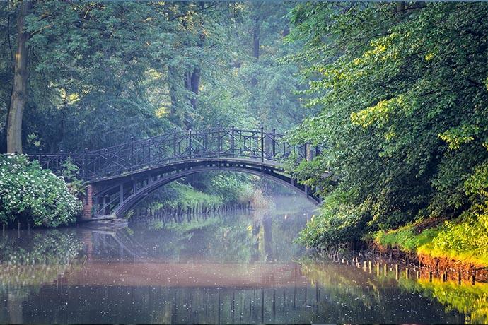 Najpiękniejsze ogrody pałacowe w Polsce - Park w Pszczynie