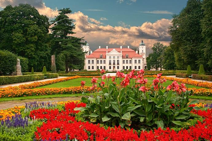 Najpiękniejsze ogrody pałacowe