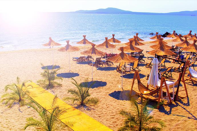 Najpiękniejsze miejsca Bułgarii - Słoneczny Brzeg