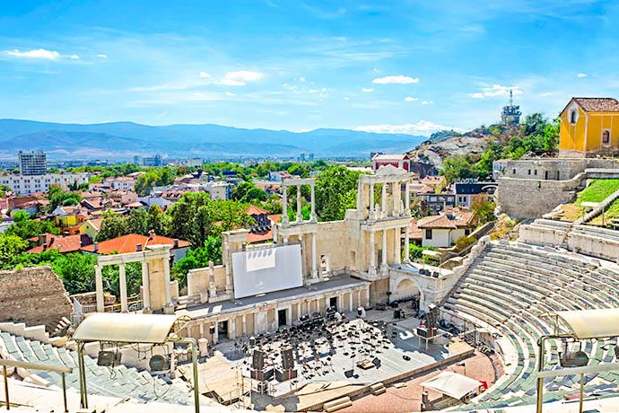 Najpiękniejsze miejsca Bułgarii - Płowdiw