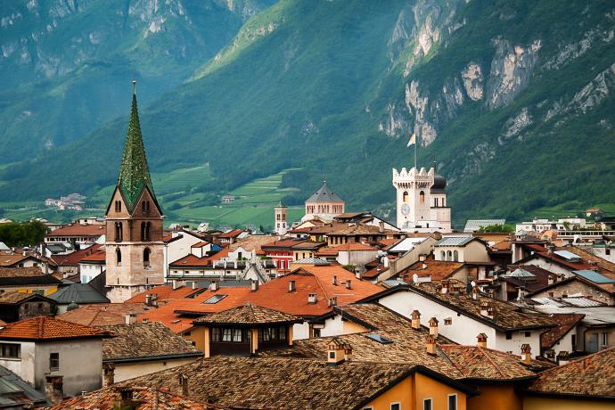 Włoskie Alpy - Trydent
