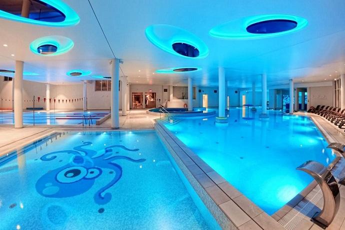 Najlepsze baseny hotelowe - Grand Lubicz Uzdrowisko Ustka