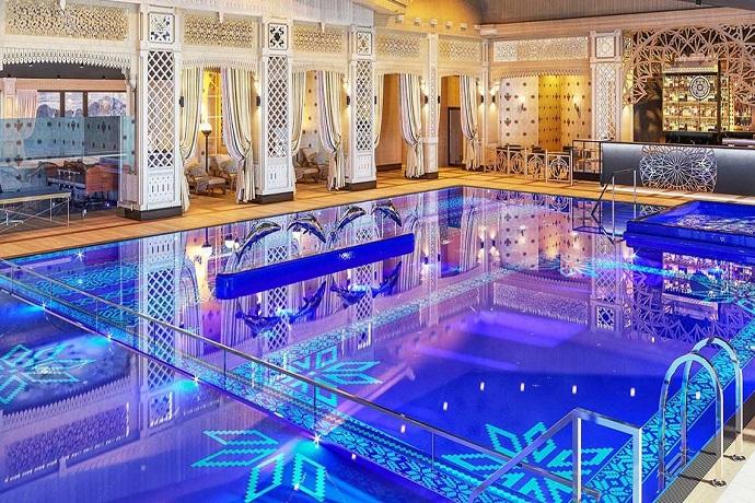 Najlepsze baseny hotelowe - Hotel Mercure Kasprowy Zakopane