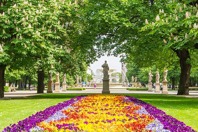 Najpiękniejsze ogrody pałacowe w Polsce - Ogród Saski