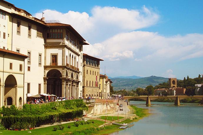 Wirtualna wizyta w muzeum - Uffizi Gallery