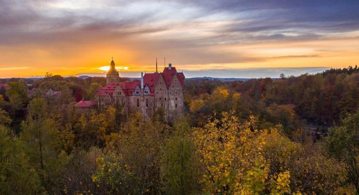 Hotele zamkowe w Polsce - Zamk Czocha
