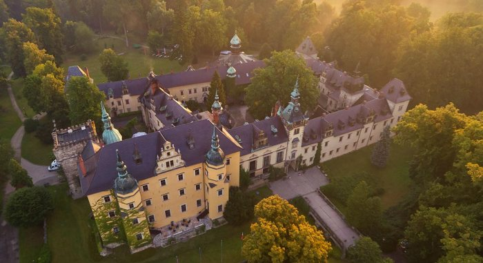 Hotele zamkowe w Polsce - Hotel Zamek Kliczków