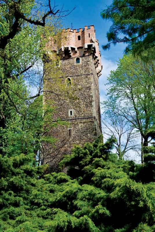 Wieża Piastowska w Cieszynie została wzniesiona w XIV w. jako fragment systemu obronnego gotyckiego zamku książęcego. Górne partie nadbudowane w XV w. zdobią kamienne herby książąt cieszyńskich.