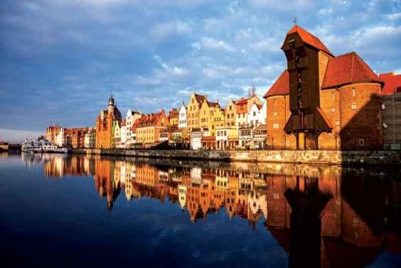 Historic city of Gdansk, Poland.